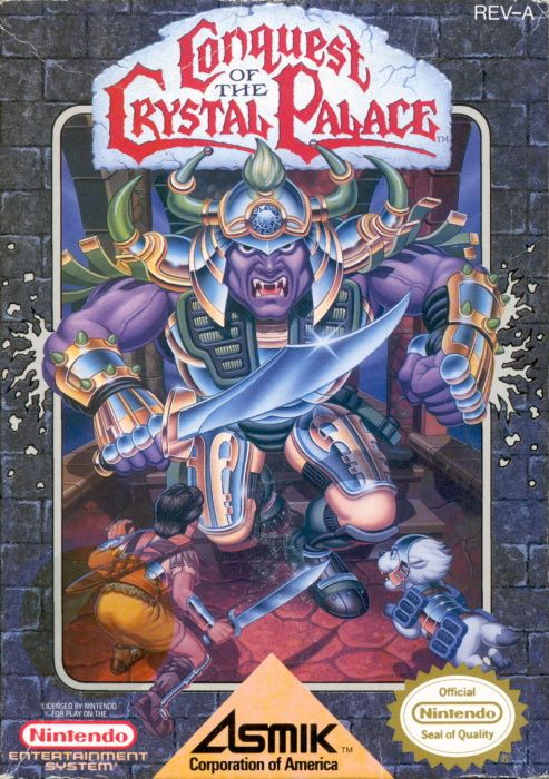 Image showing the Conquest of the Crystal Palace box art