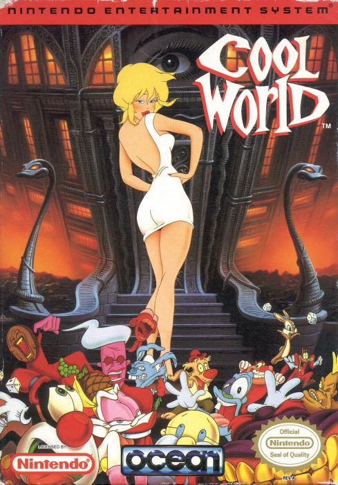 Image showing the Cool World box art