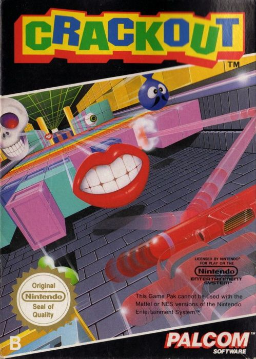 Image showing the Crackout box art