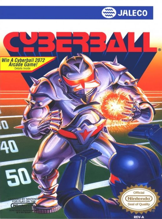 Image showing the Cyberball box art