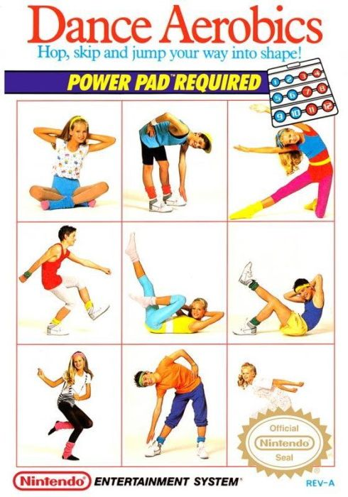 Image showing the Dance Aerobics box art