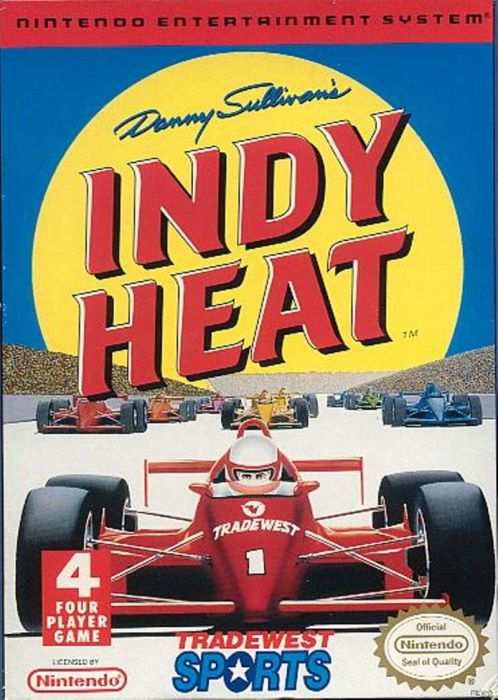 Image showing the Danny Sullivan's Indy Heat box art