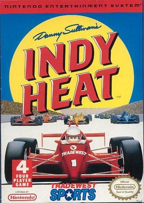Image showing the Danny Sullivan's Indy Heat box art