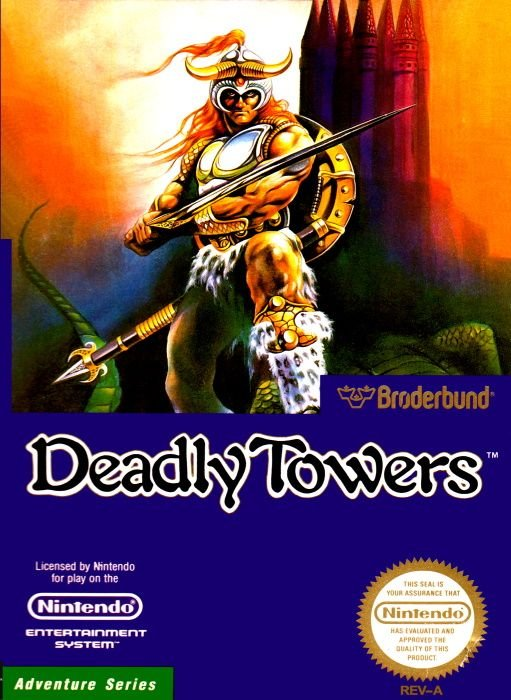 Image showing the Deadly Towers box art