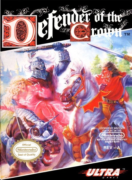 Image showing the Defender of the Crown box art