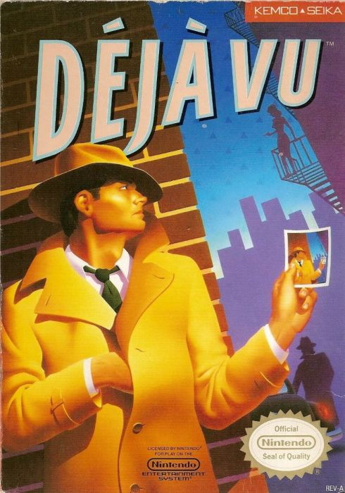 Image showing the Déjà Vu box art