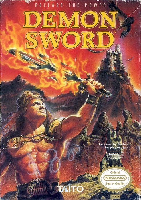 Image showing the Demon Sword box art