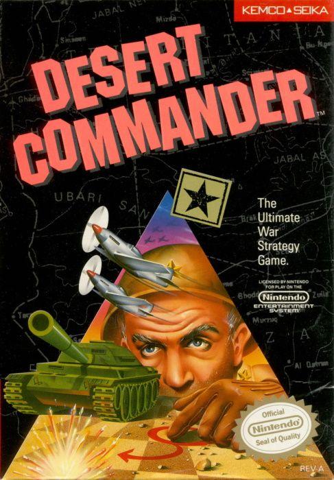 Image showing the Desert Commander box art