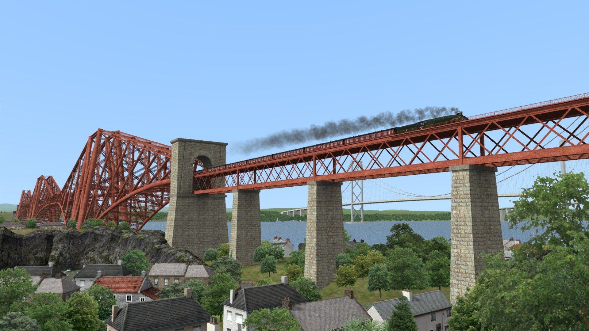 Train Simulator Fife Circle Line Edinburgh to Dunfermline