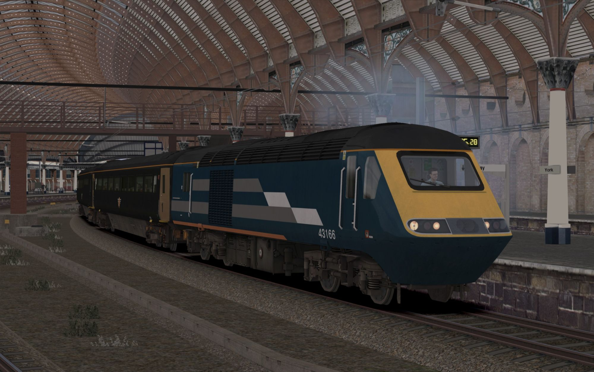 Image showing screenshot of the 1N28 - 1650 London Kings Cross to Sunderland scenario