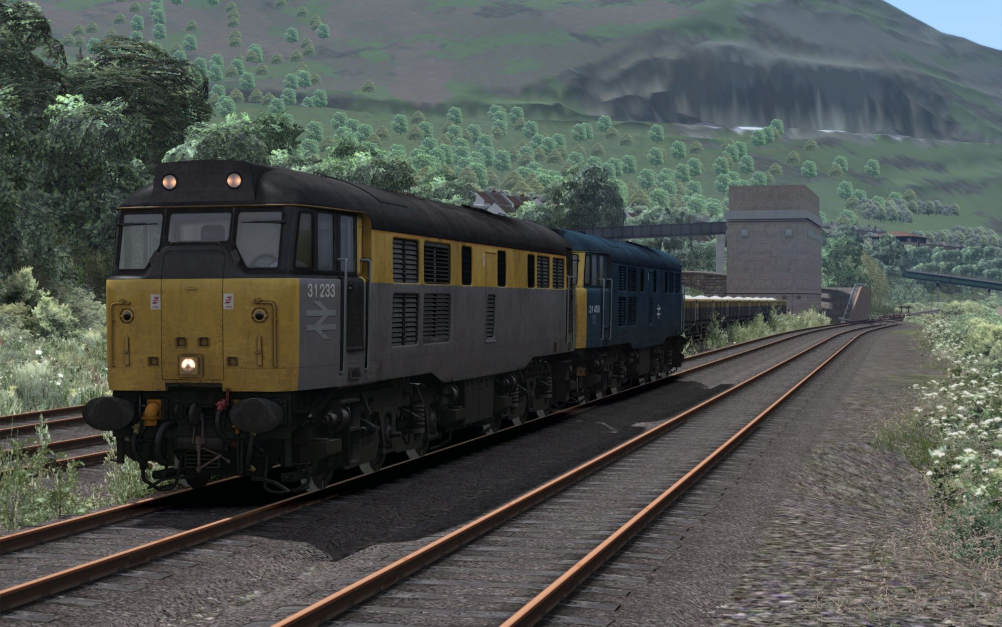 Image showing screenshot of the 6F36 - 1301 Penmaenmawr Quarry to Edge Hill Sidings scenario
