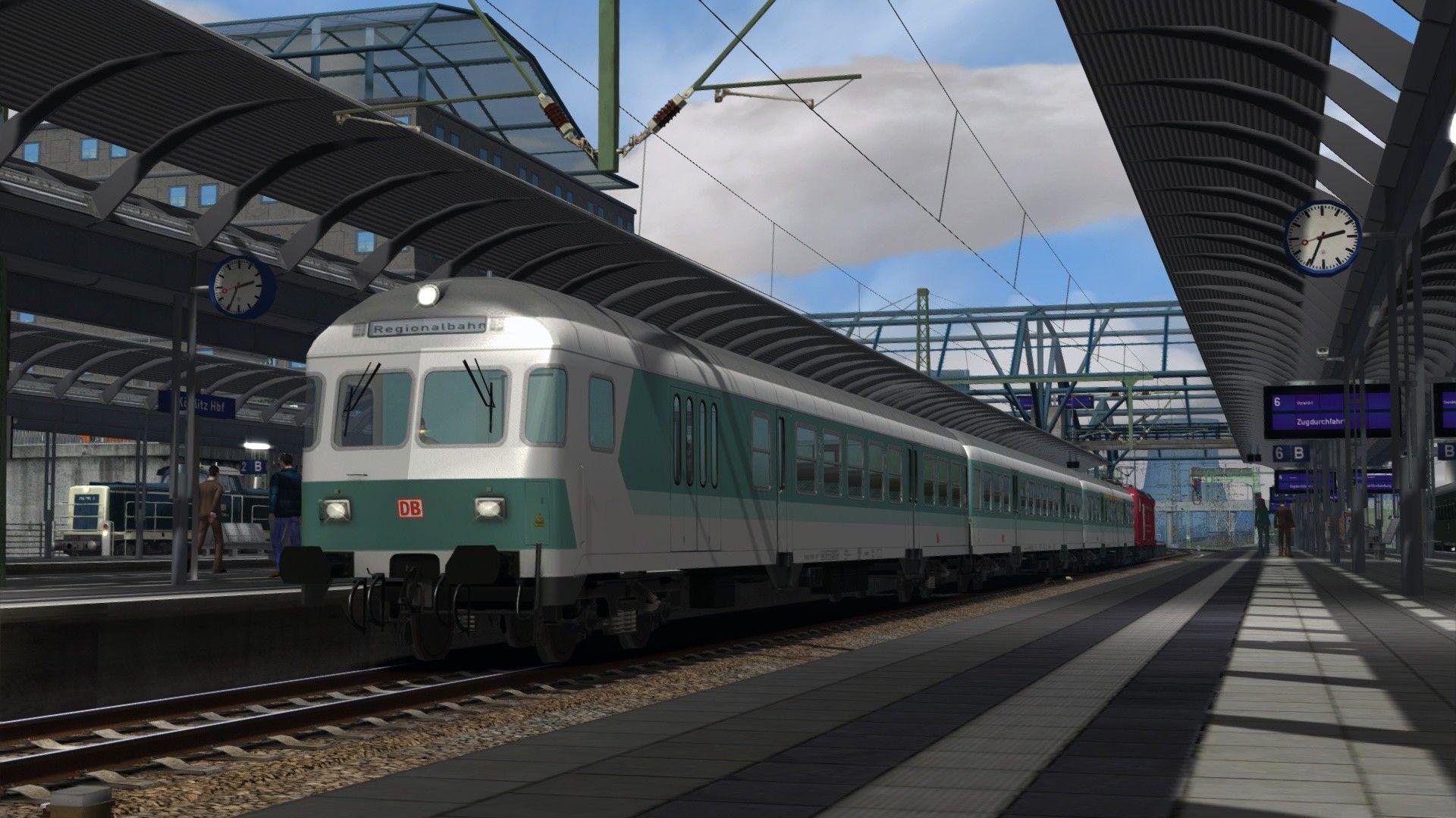 Train Simulator Im Köblitzer Bergland