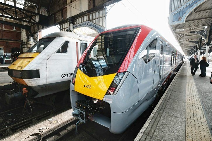 Image showing Greater Anglia Stadler train