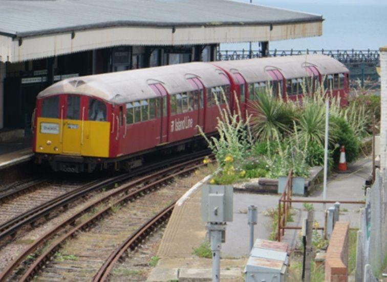Image showing Island Line Class 483 train