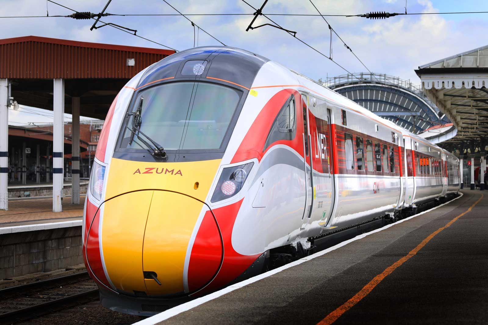 Image showing an LNER Azuma train