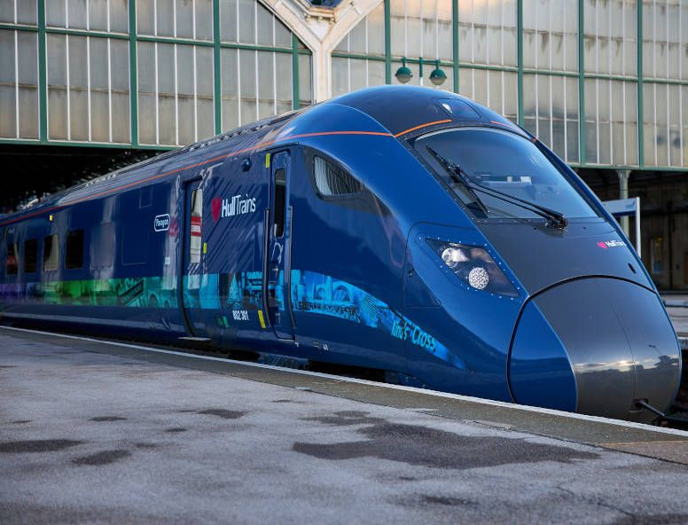 Image showing new Hull Trains train