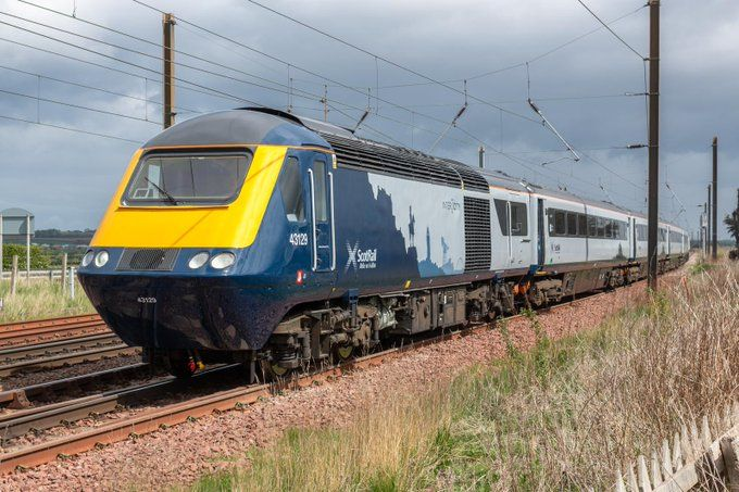 Image showing ScotRail Inter7City HST