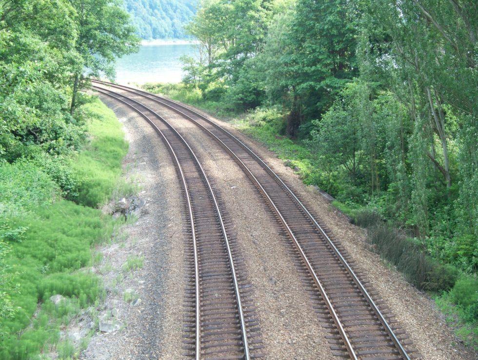 Image showing railway tracks
