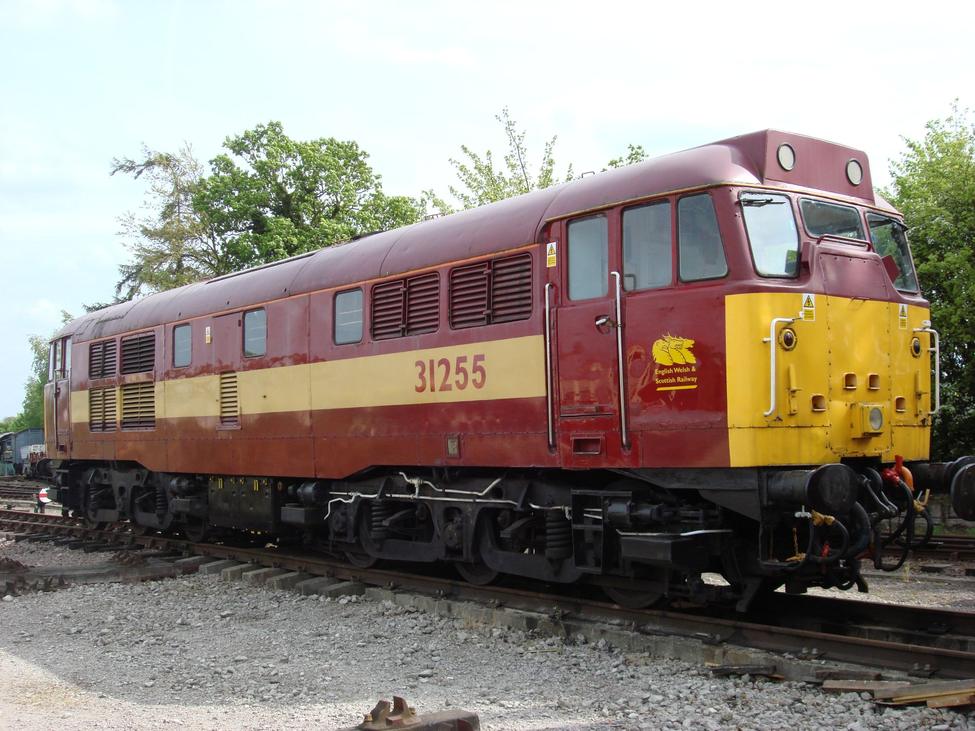 Image showing 31255 in EWS livery
