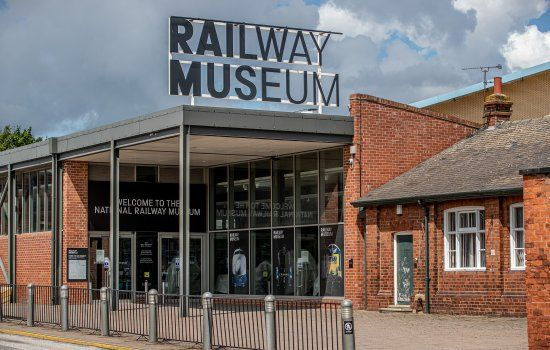 Image showing the National Railway Museum in York