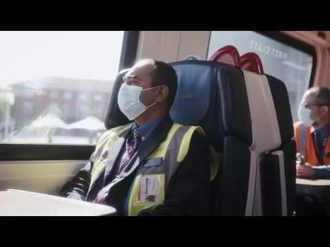 Image showing Coronavirus measures on East Midlands Railway