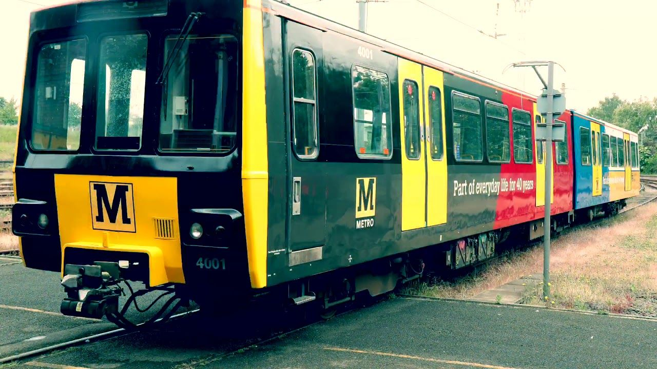 Image showing Tyne and Wear Metro train