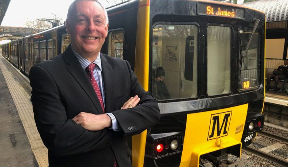 Image showing retired Metro driver Ian Rossiter