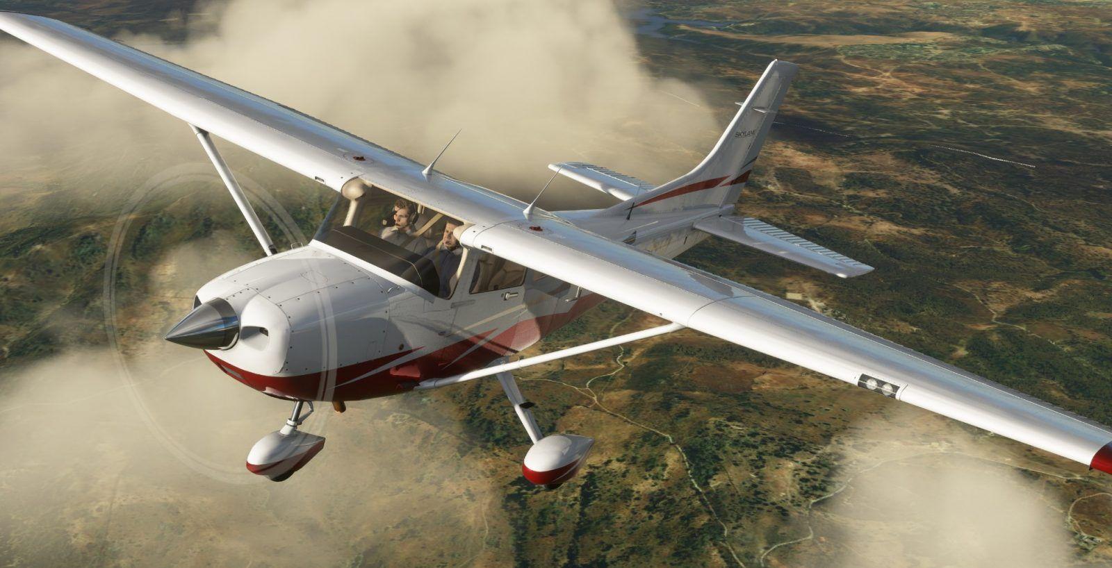 MSFS Cessna CT182T Skylane