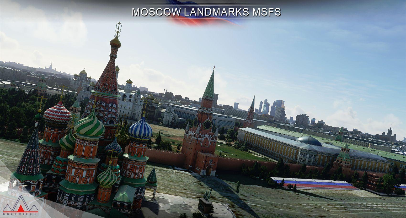 MSFS Moscow Landmarks