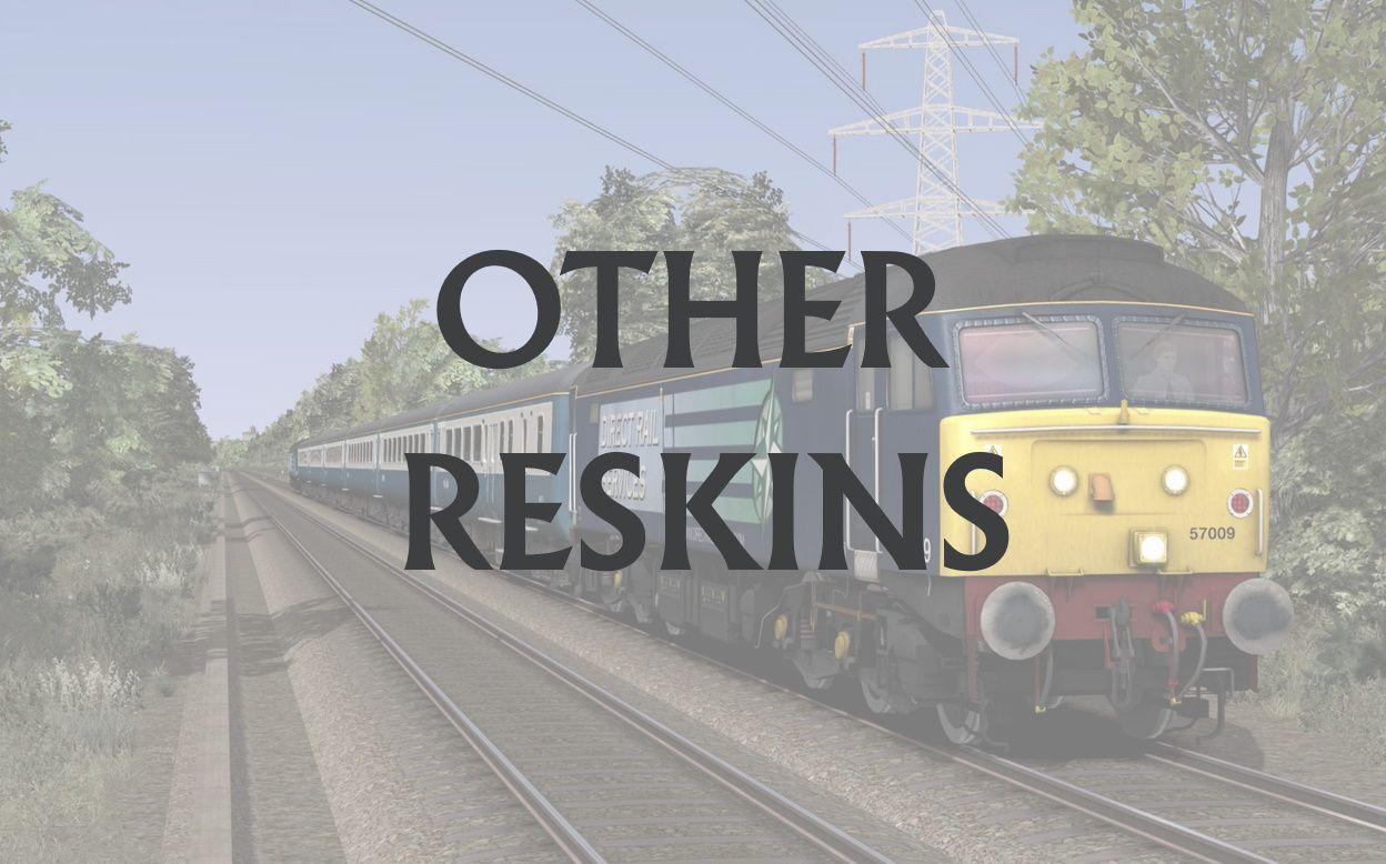 Train Simulator Reskins