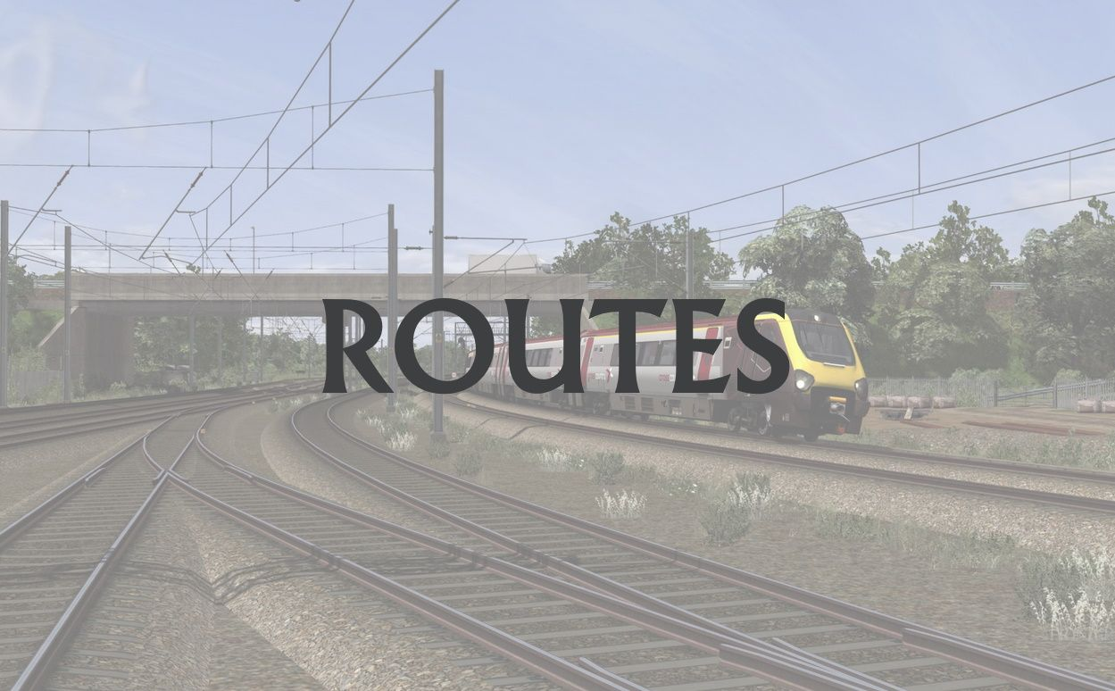 Train Simulator Routes