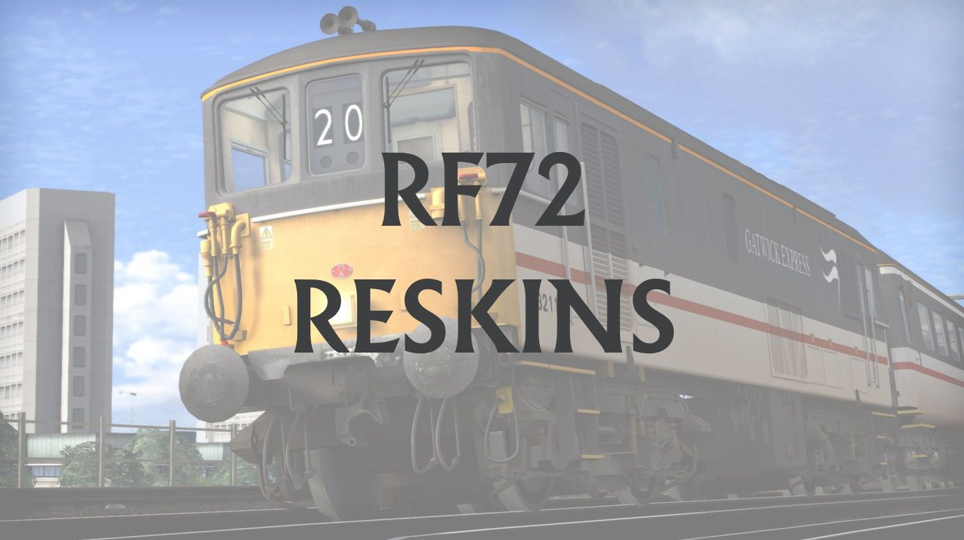 Train Simulator  RF72 Reskins