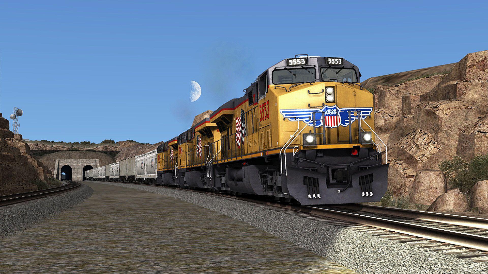 Train Simulator Battle for Sherman Hill