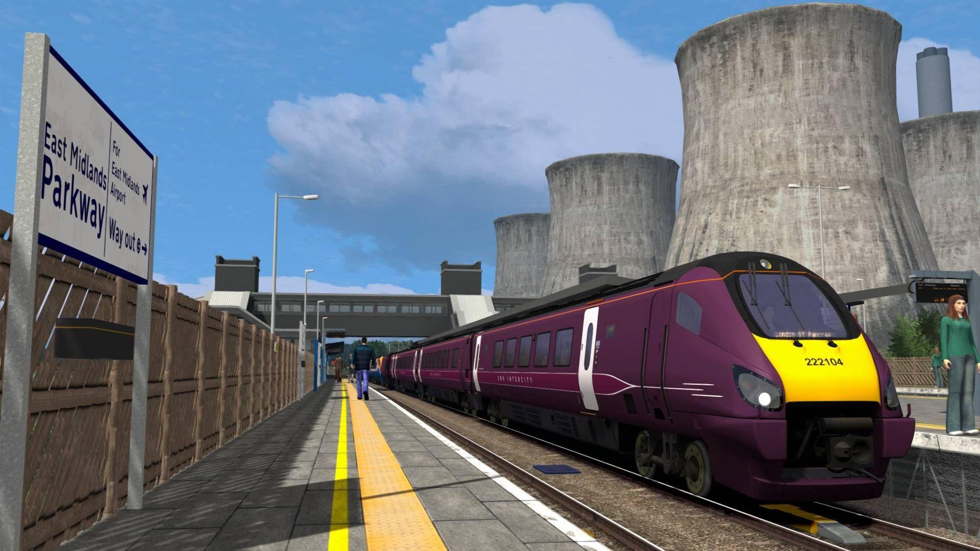 Train Simulator Midland Main Line: Derby - Nottingham - Leicester