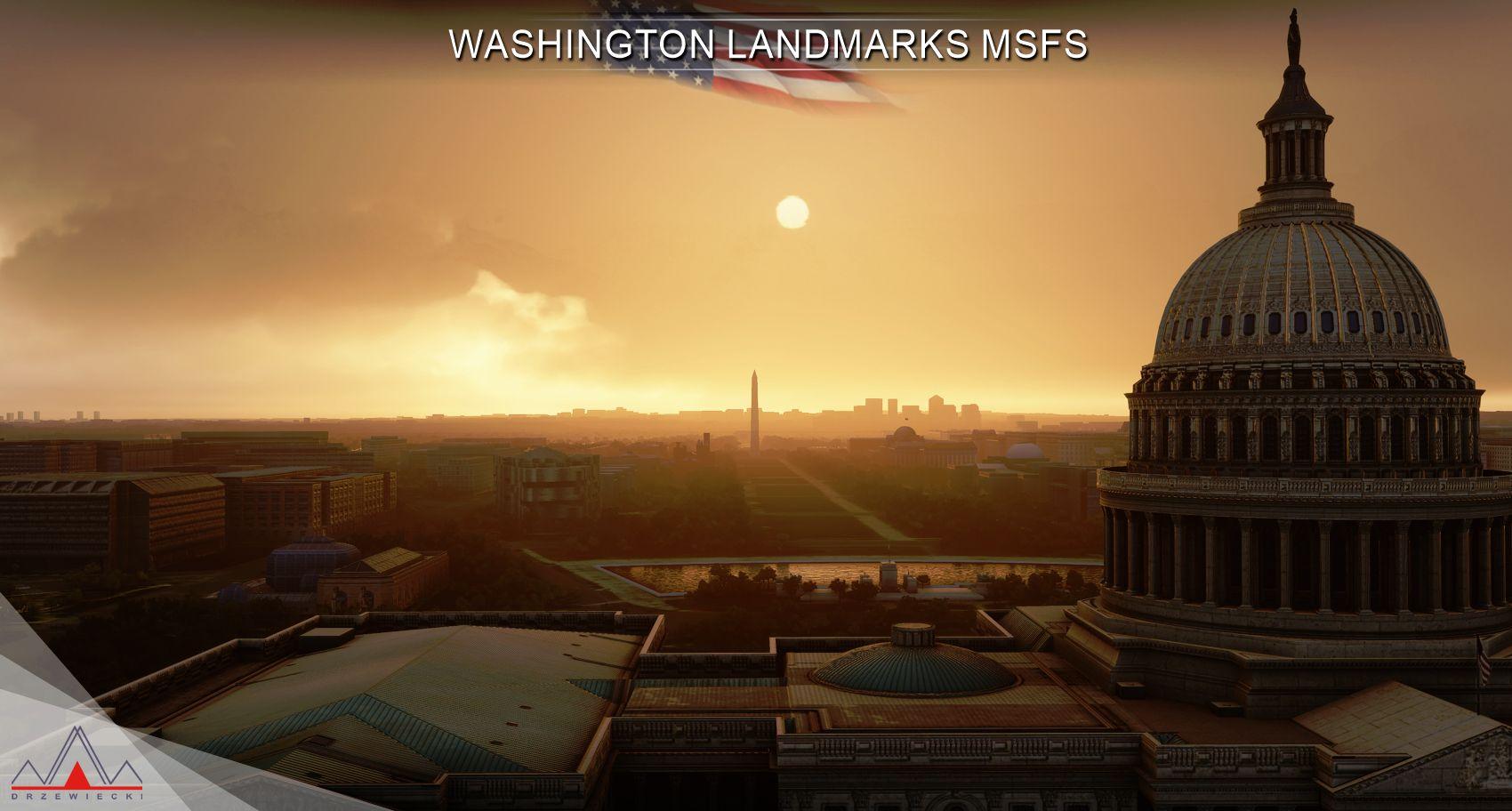 MSFS Washington Landmarks