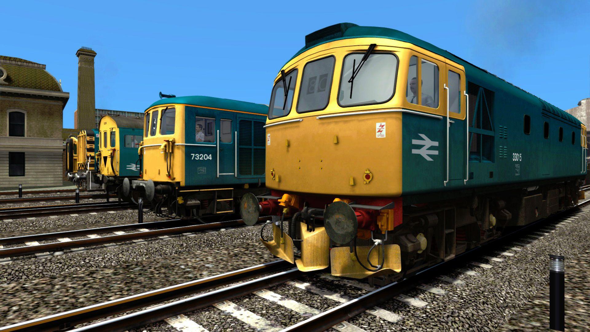 Train Simulator BR Blue Diesel Electric