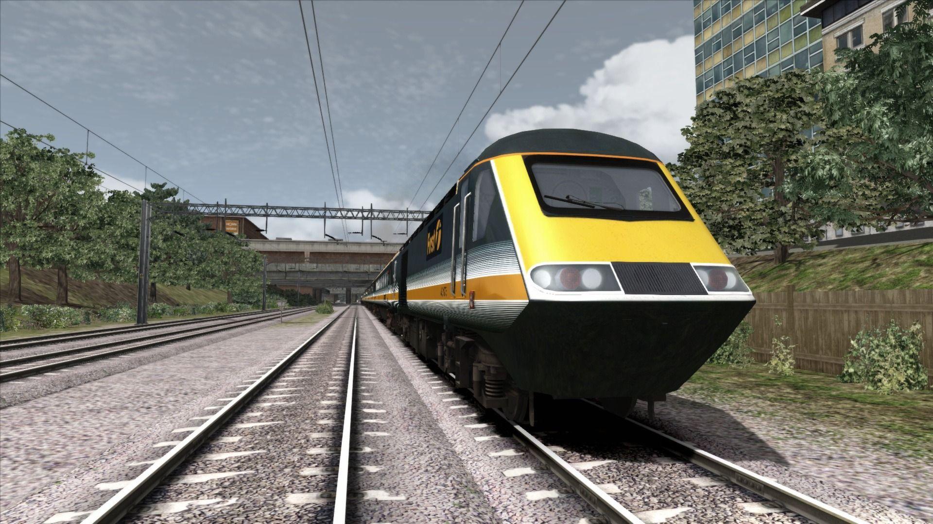 Train Simulator Green & Gold HST