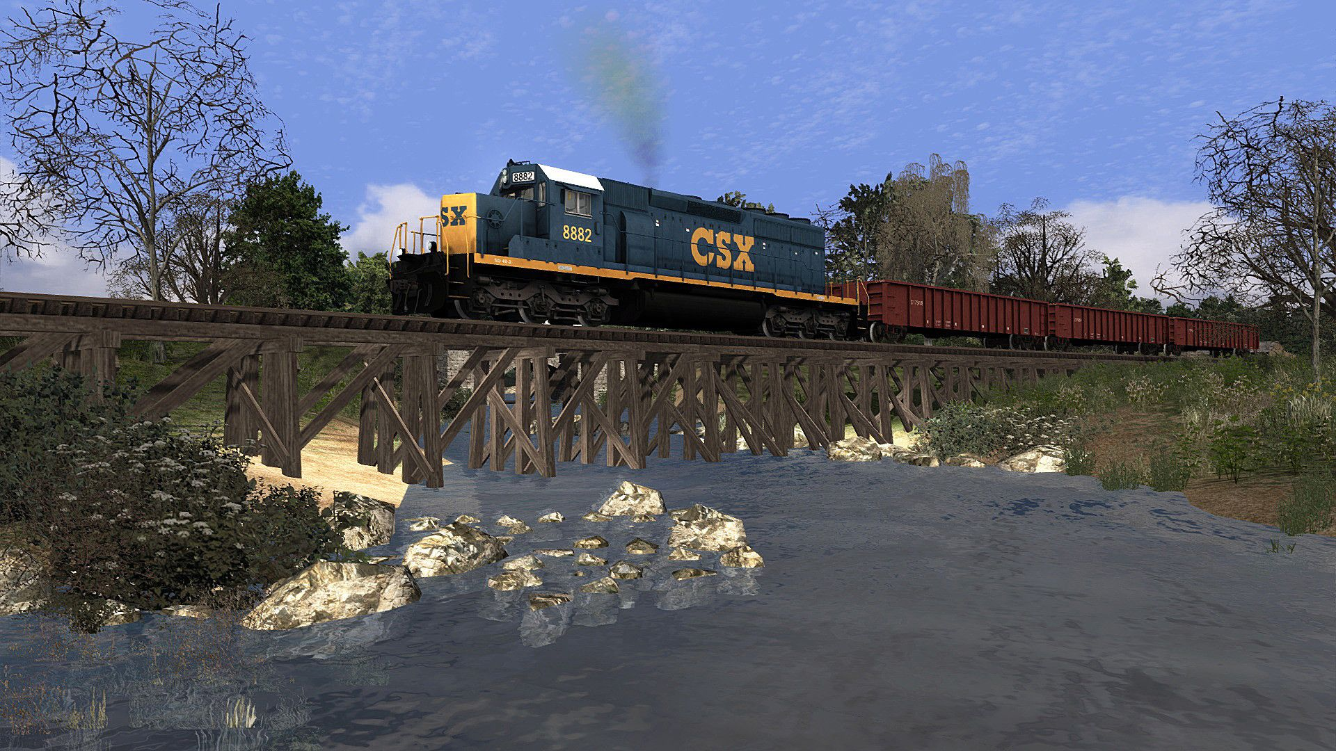 Train Simulator CSX Hanover Subdivision