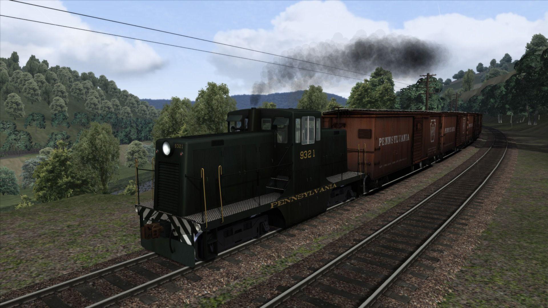 Train Simulator Horseshoe Curve