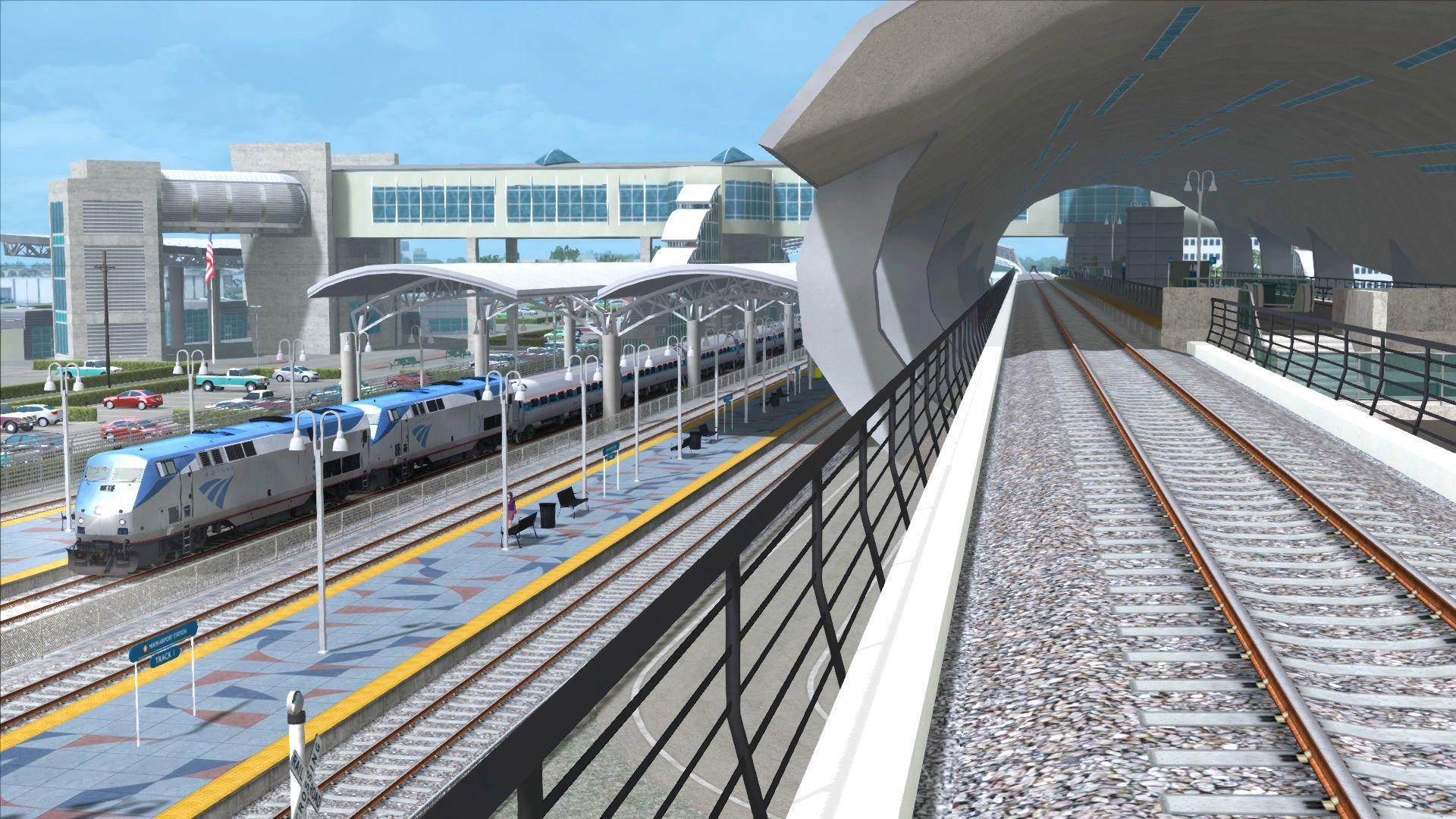 Train Simulator Miami to West Palm Beach