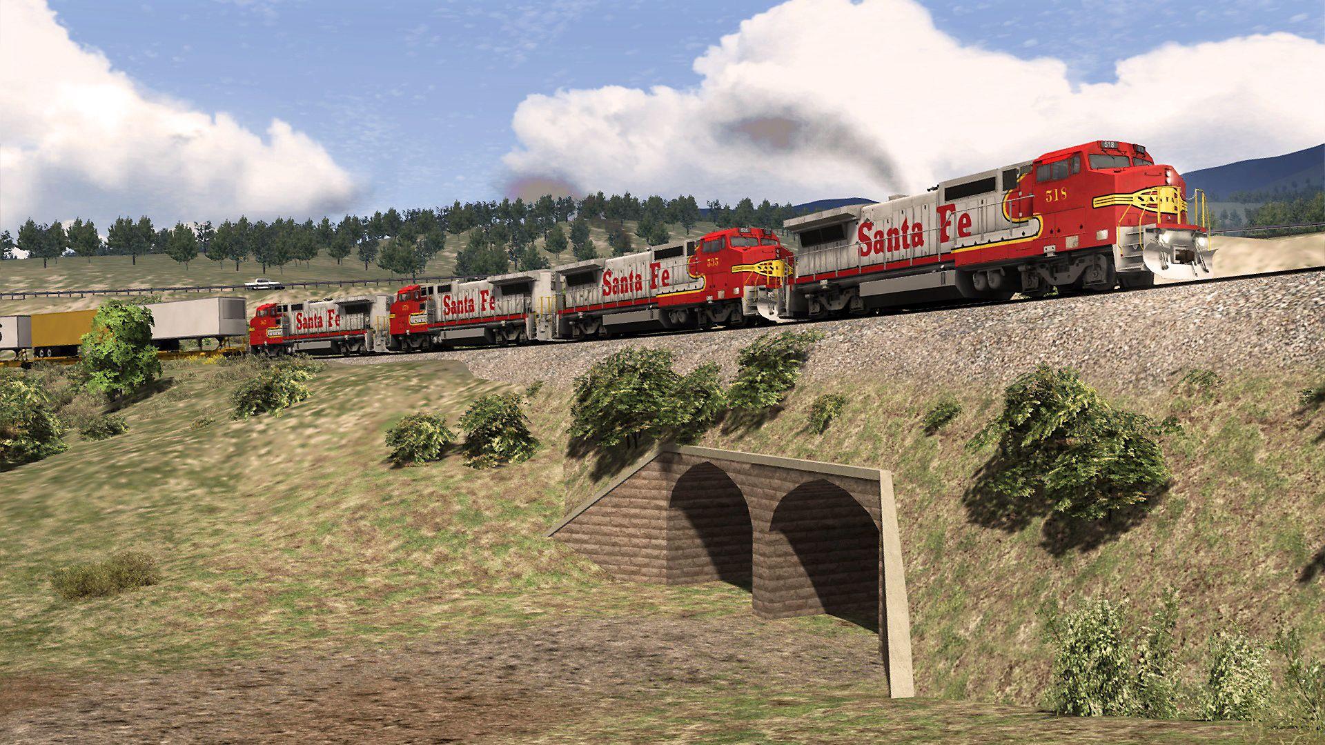 Train Simulator Raton Pass
