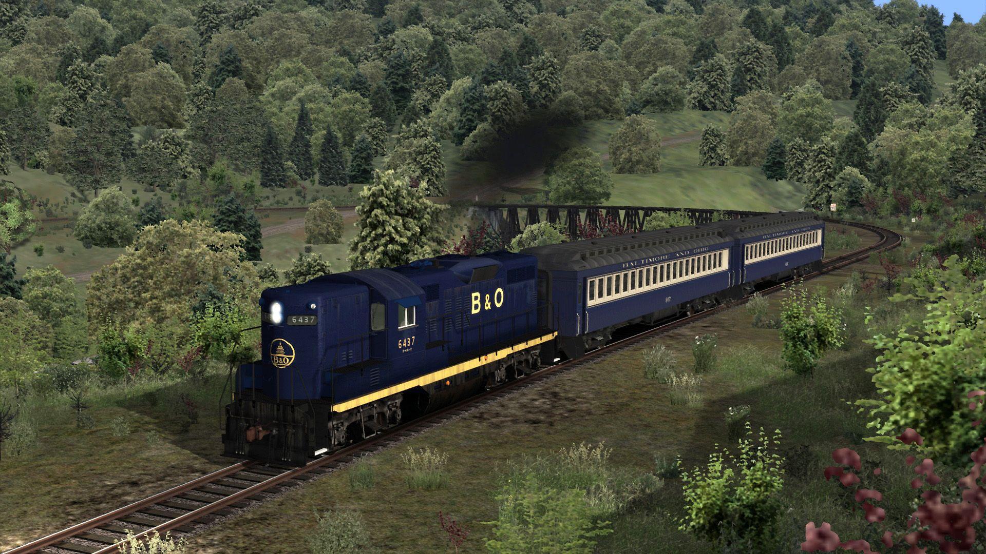 Train Simulator B&O Kingwood Branch