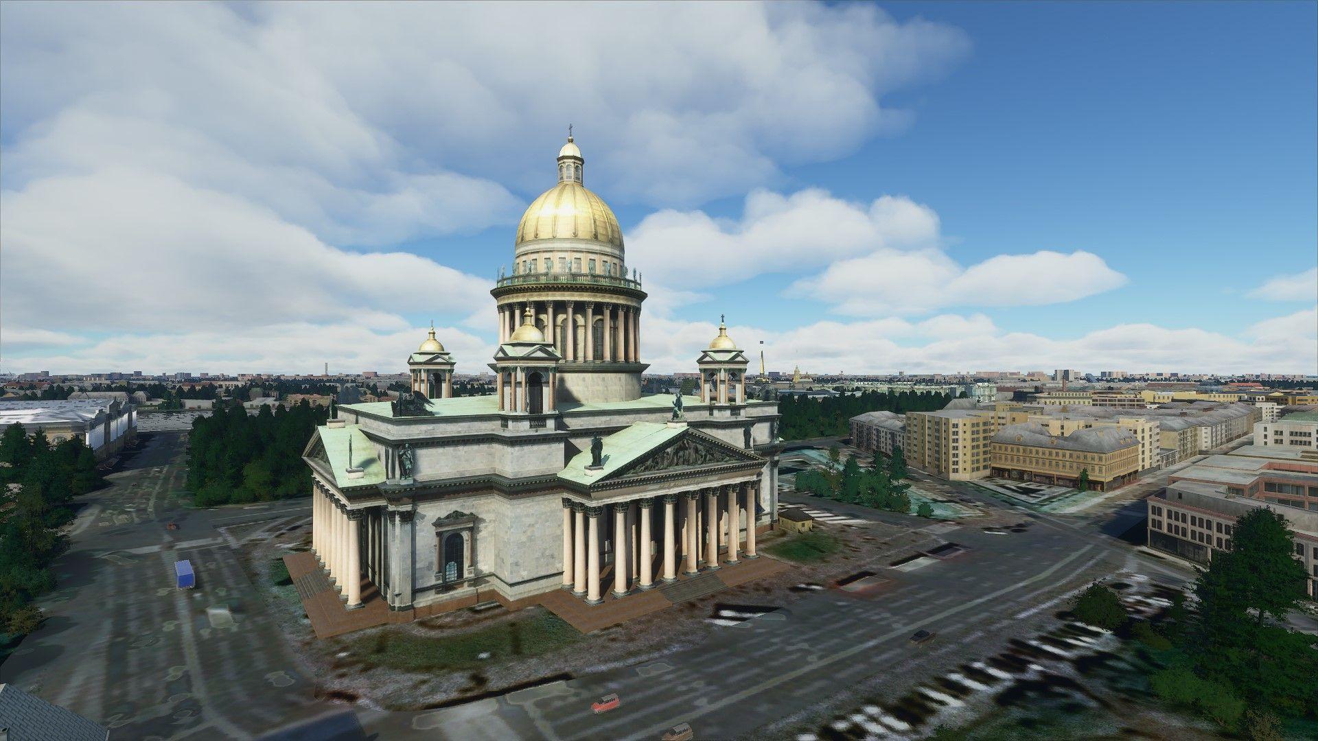 MSFS Saint Petersburg Landmarks