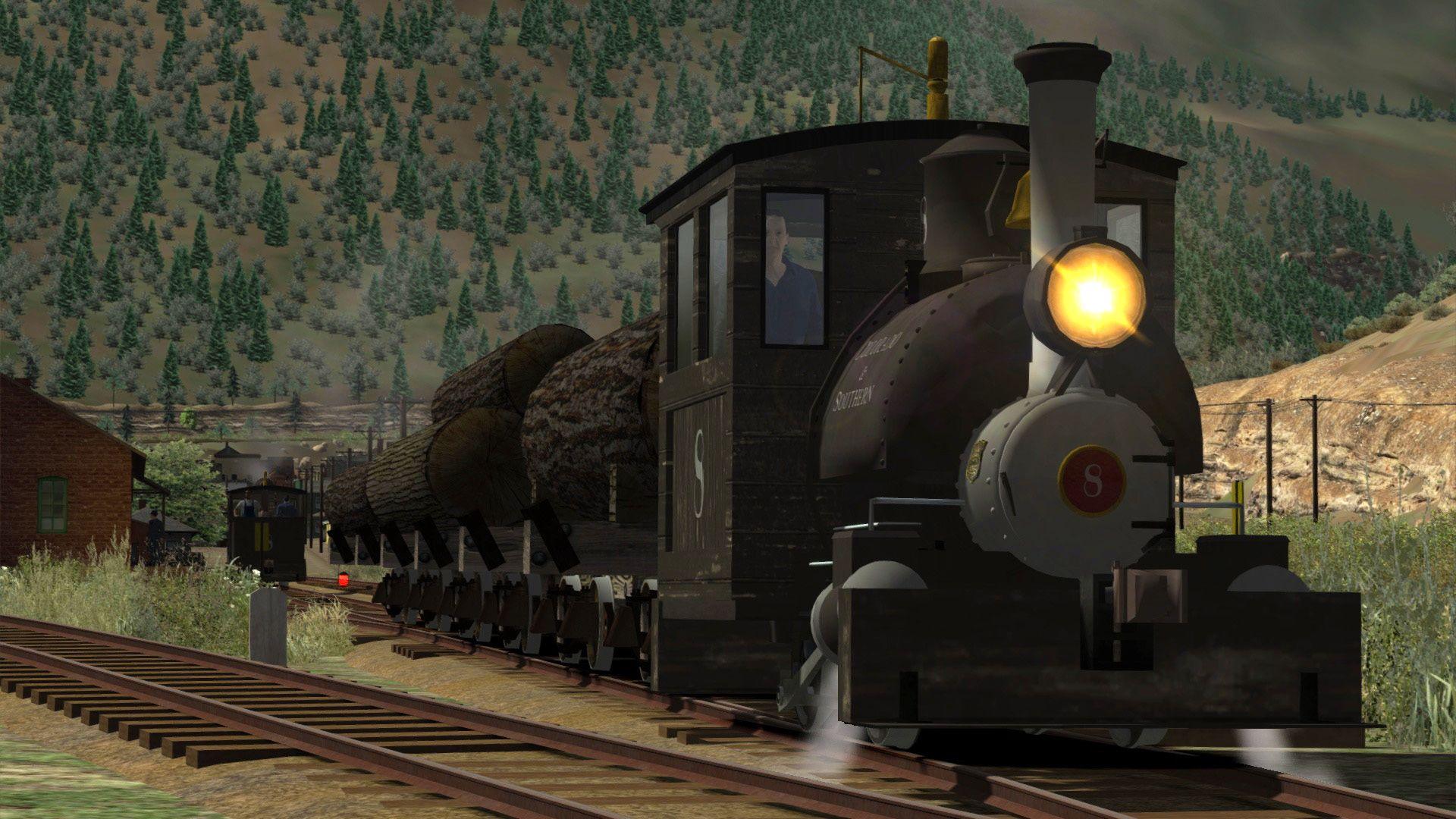 Train Simulator Clear Creek Log & Lumber Expansion Pack