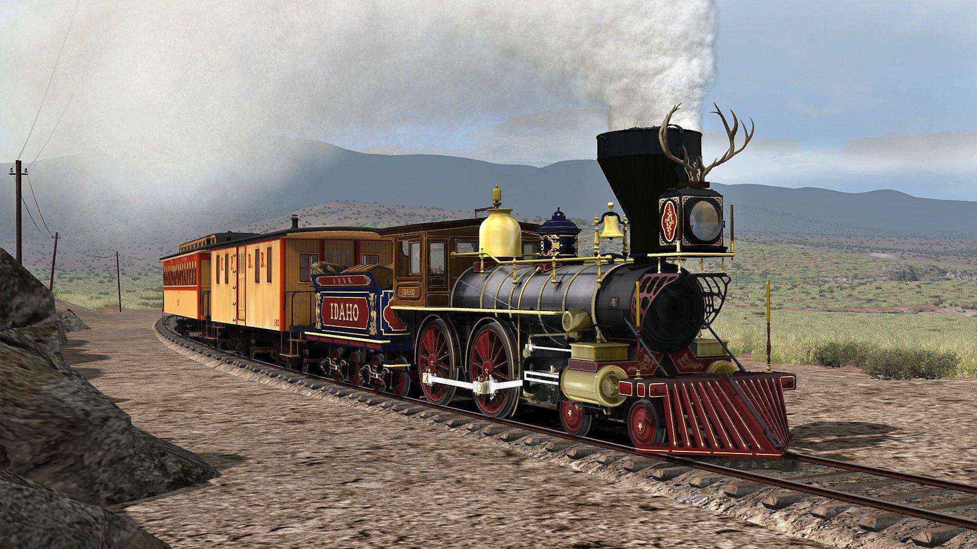 Train Simulator CPRR Idaho & Omaha  Steam Loco Pack