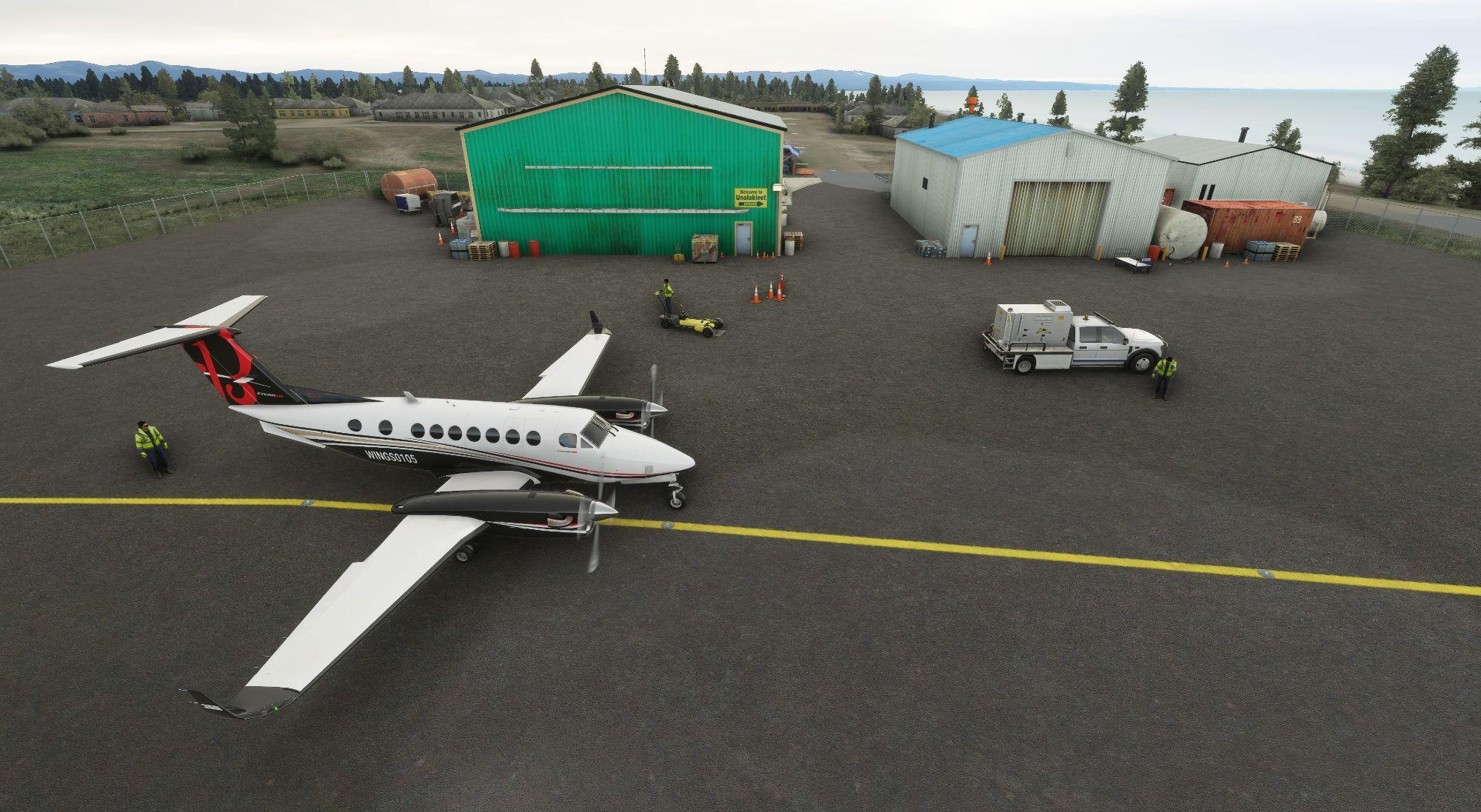 MSFS PAUN Unalakleet Airport