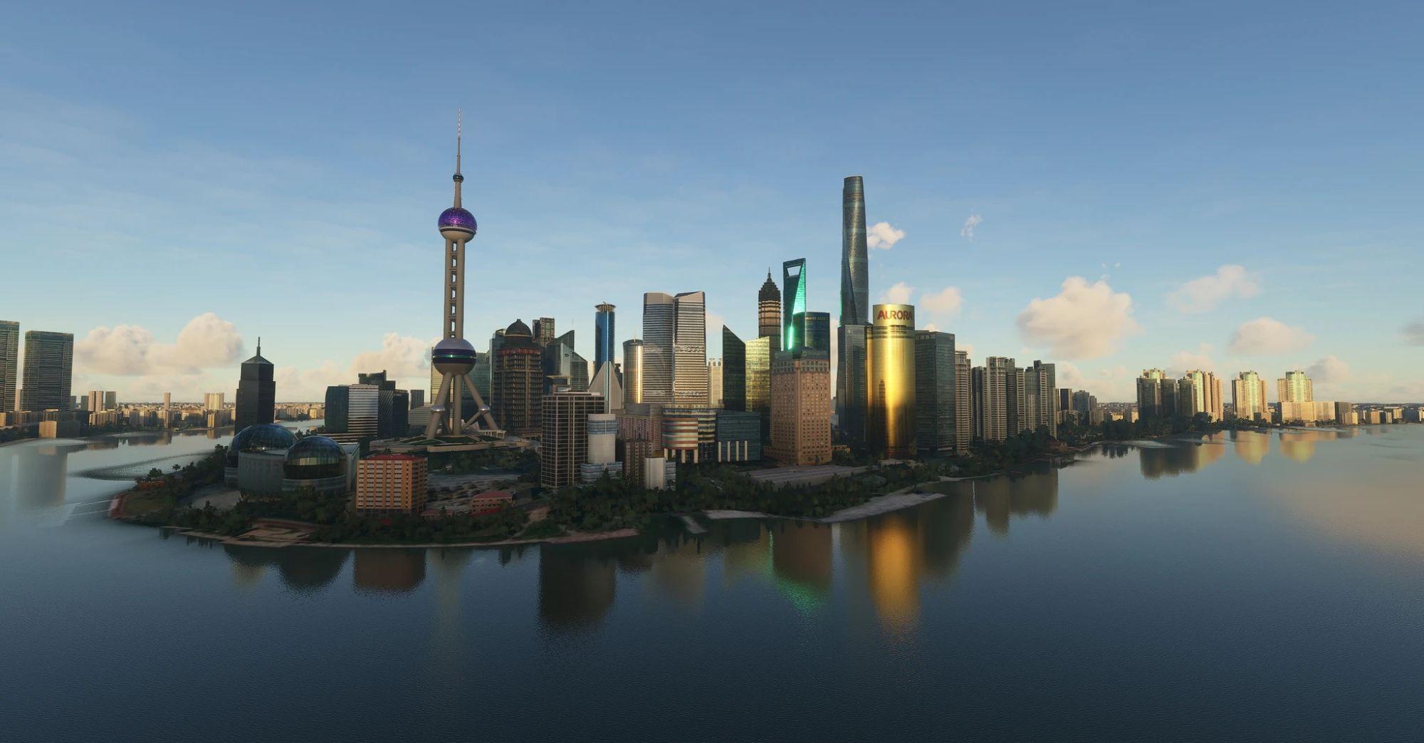 MSFS Shanghai City Times