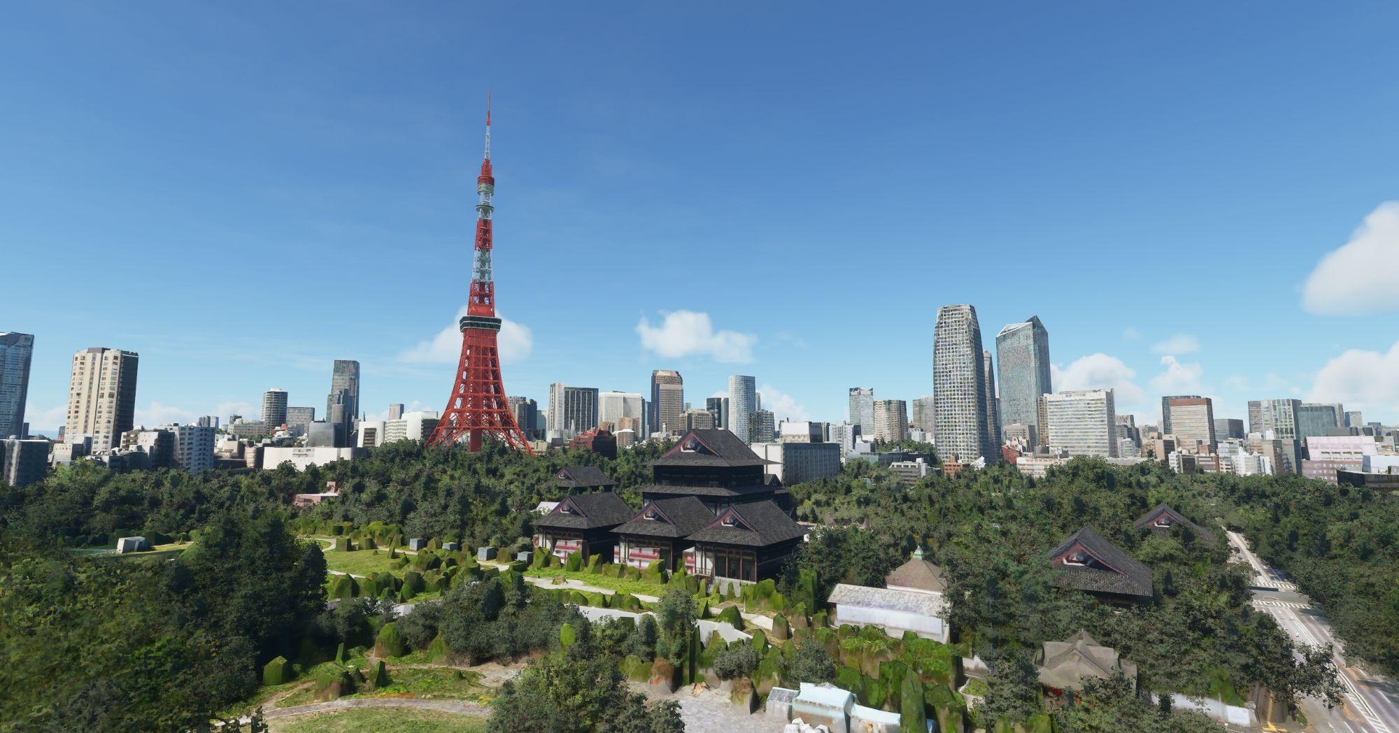 MSFS Tokyo Landmarks Enhanced