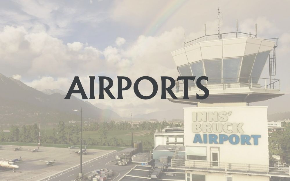 MSFS Airports