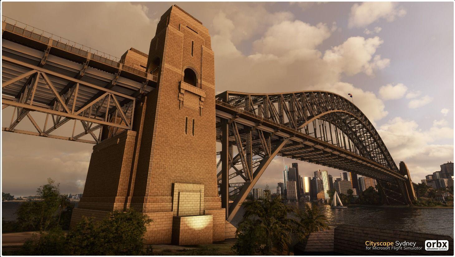 MSFS Cityscape Sydney